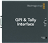 GPI and Tally Interface | Blackmagic Design